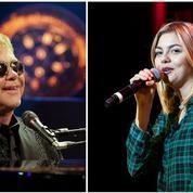 Elton John fan de la petite Française Louane Emera