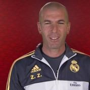 Zidane et Benzema souhaitent un bon nouvel an chinois en mandarin