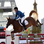 Euro de foot oblige, le Paris Eiffel Jumping s'installera cette année à bagatelle