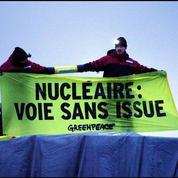 Greenpeace bloque un convoi destiné à l'EPR de Flamanville