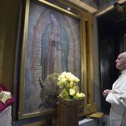 L'énigme de la longue prière silencieuse du pape devant la Vierge de Guadalupe