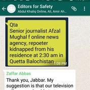 Quand WhatsApp sauve la vie de reporters au Pakistan