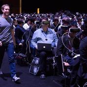 Facebook annonce la création d'une équipe dédiée à la réalité virtuelle