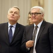 Jean-Marc Ayrault et Frank-Walter Steinmeier somment Kiev de réformer