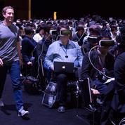 Facebook dévoile ses ambitions dans la réalité virtuelle