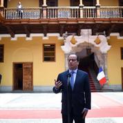 La scoumoune s'abat sur la tournée de François Hollande