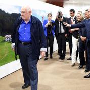 Le photographe, le président et «la France des sous-préfectures»