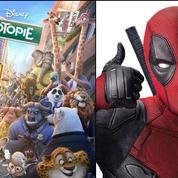 Zootopie prend la tête du box-office devant Deadpool
