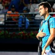 Novak Djokovic n'a pas apprécié les sifflets du public à Dubaï