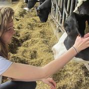 Armelle, 16 ans, a l'espoir que la situation des éleveurs change