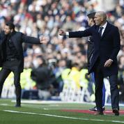 Les images de la caméra isolée sur Zidane pendant le derby madrilène