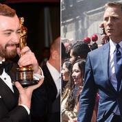Oscars 2016: Sam Smith offre un strapontin à James Bond