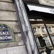Braquage d'une bijouterie place Vendôme