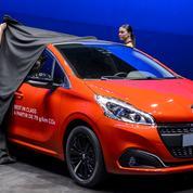 La Peugeot 208, voiture la plus vendue en France depuis début 2016