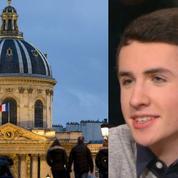 À 15 ans, Enzo se présente à l'Académie française