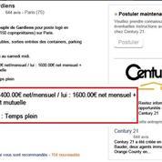 Century 21 publie une offre d'emploi discriminante, avant de la supprimer