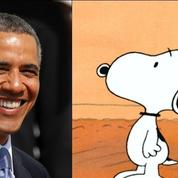 Barack Obama signe la préface de l'intégrale de... Snoopy