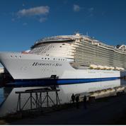 Le plus grand paquebot du monde sort des chantiers de Saint-Nazaire