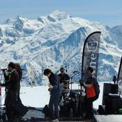 Ski en fête sous le soleil d'avril