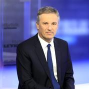 Nicolas Dupont-Aignan candidat en 2017
