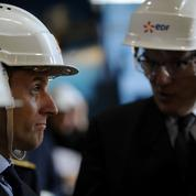 Macron : l'État est prêt à recapitaliser EDF