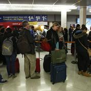 Grève des contrôleurs aériens: entre 20% et 30% de vols annulés ce lundi