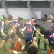 Rugby : une bagarre générale a éclaté entre la Marine Nationale et la Royal Navy
