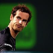 Andy Murray excédé parce qu'il a joué avec des balles réservées aux femmes