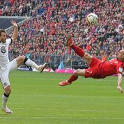 Le splendide ciseau acrobatique de Franck Ribéry
