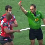 Un rugbyman d'Oyonnax risque une très lourde suspension pour avoir menacé un arbitre