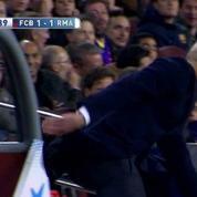 La galipette de Zidane lors du Clasico