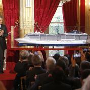 Chantiers de l'Atlantique : le porte-bonheur industriel de François Hollande