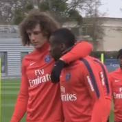 Quand David Luiz fête l'anniversaire de Blaise Matuidi