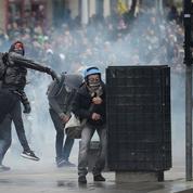 Disqueuse au poing, les casseurs nantais s'organisent pour tromper la police