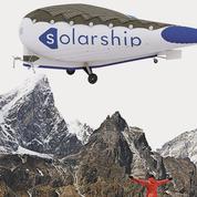 Solar Ship, un avion-cargo solaire aux ailes gonflées à l'hélium