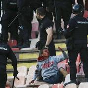 Le derby de Belgrade a dégénéré