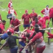 Rugby : bagarre générale entre les espoirs de Biarritz et de Béziers
