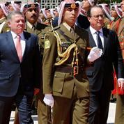 François Hollande soutient la Jordanie