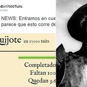 Don Quichotte, nouvelle star de Twitter