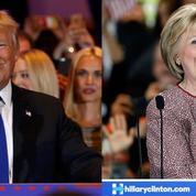 Donald Trump et Hillary Clinton triomphent à New York