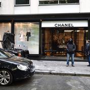 Spectaculaire braquage d'une boutique Chanel à Paris