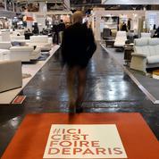 Des entrepreneurs à la Foire de Paris