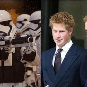 Star Wars VIII :les princes William et Harry en Stormtroopers ?