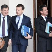 «Macron et Valls soutiennent Hollande comme la corde soutient le pendu»