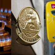 Prix du gaz, tarifs des notaires, billets SNCF: ce qui change ce 1er mai