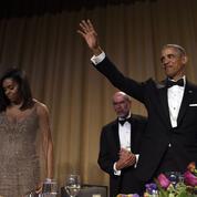 Barack Obama fait le show et tance Clinton et Trump