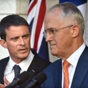 Les violences parisiennes polluent l'étape australienne de Manuel Valls