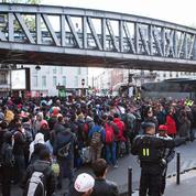 1600 migrants évacués d'un campement sauvage à Paris