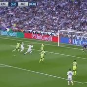 Le coup de pouce du destin qui permet au Real Madrid de marquer face à Manchester City