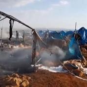 Syrie : un raid contre un camp de déplacés provoque un tollé international